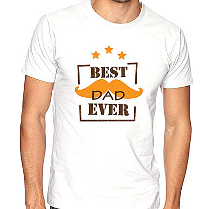 Best Dad Ever T Shirt Small
