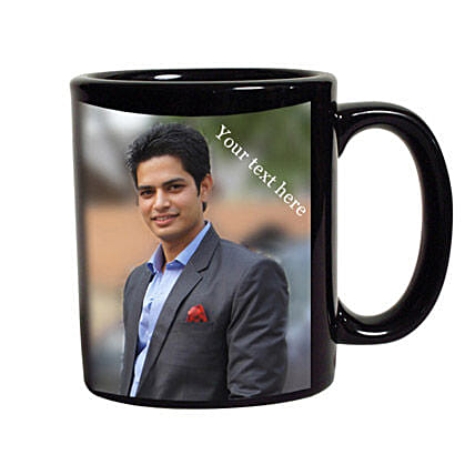 Black Mug Personalized