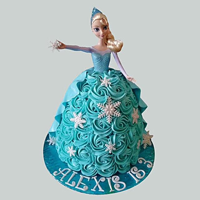 Blue Roses Barbie Cake Truffle 2kg