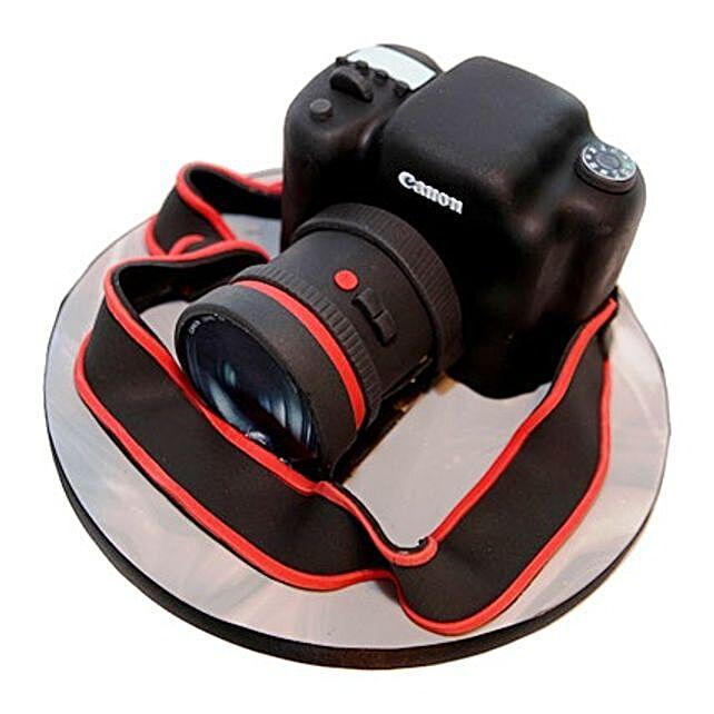Camera Cake 2kg Eggless