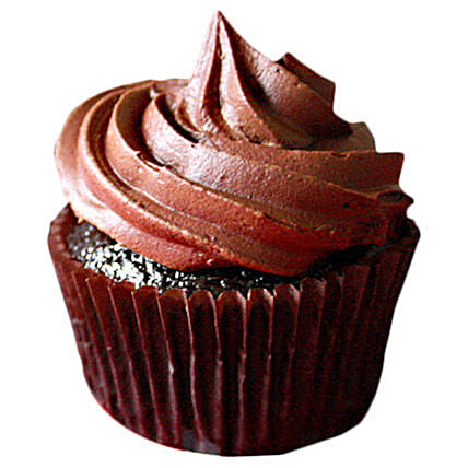Chocolate Cupcakes 6 Eggless