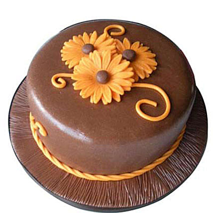 Chocolate Orange Cake 1kg by FNP