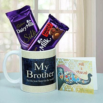 Chocolate Treat For Brother