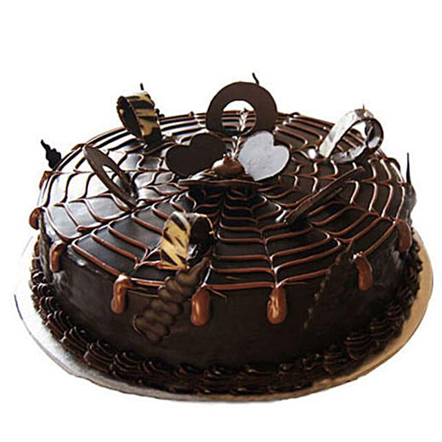Chocolatey Drops of Pride Cake Half kg Eggless