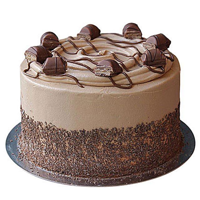 Coffee Cream Cake 3kg Eggless