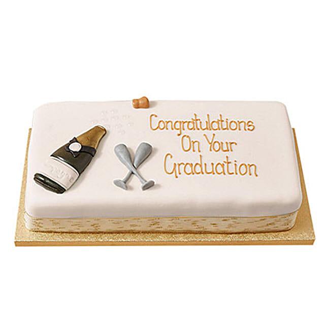 Congratulations Fondant Cake Truffle 2kg