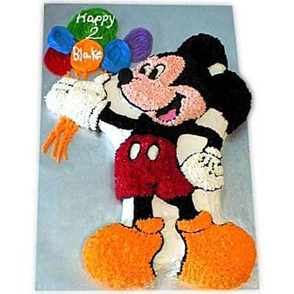 Creamy MM with Balloons 4kg Black Forest