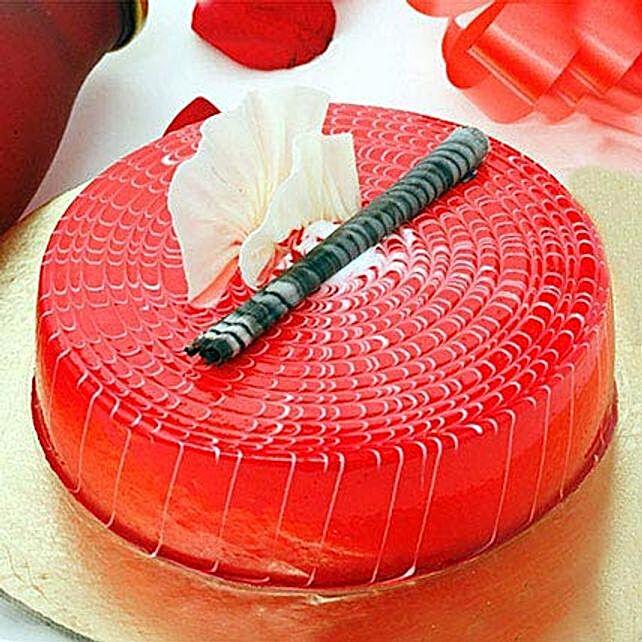 Crimson Love Cake 1KG Eggless