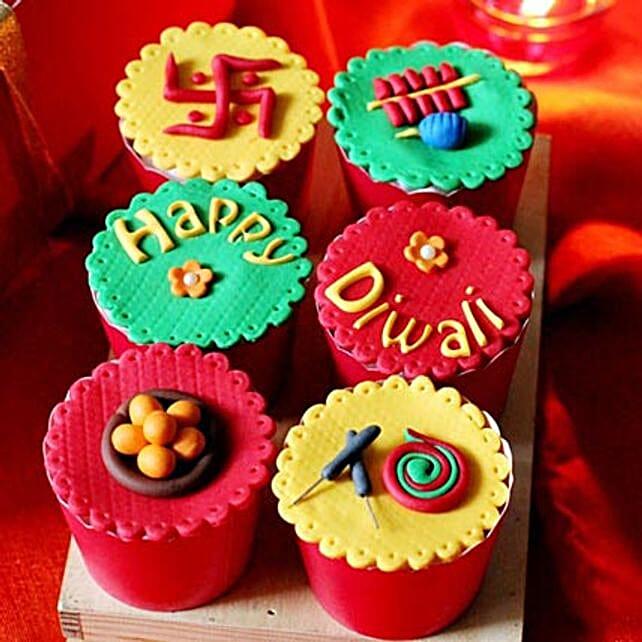 Custom Cakes For Diwali 6 Eggless