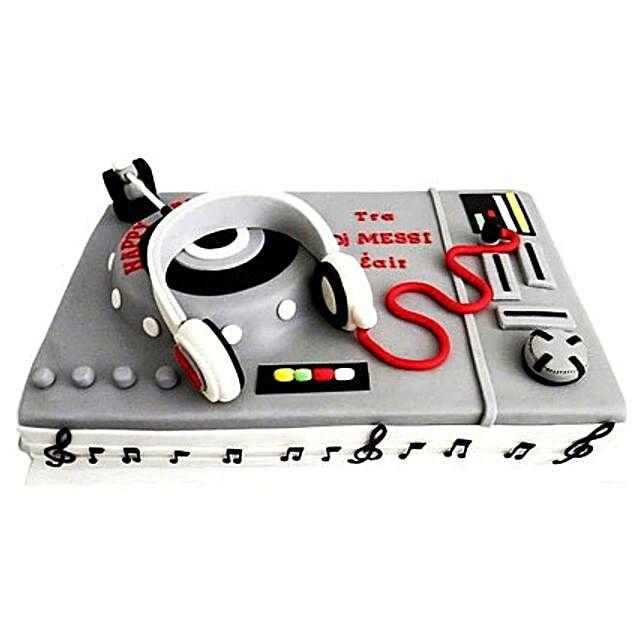 DJ Special Cake 3kg Eggless Black Forest