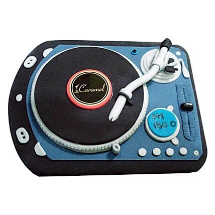 DJ Spin That Cake 4kg Black Forest