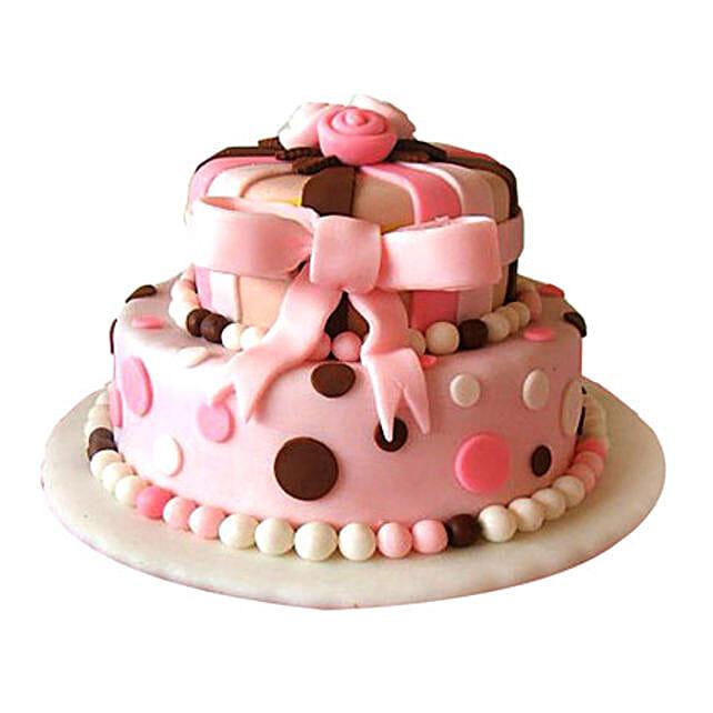 Elegant Pink Cake 4kg