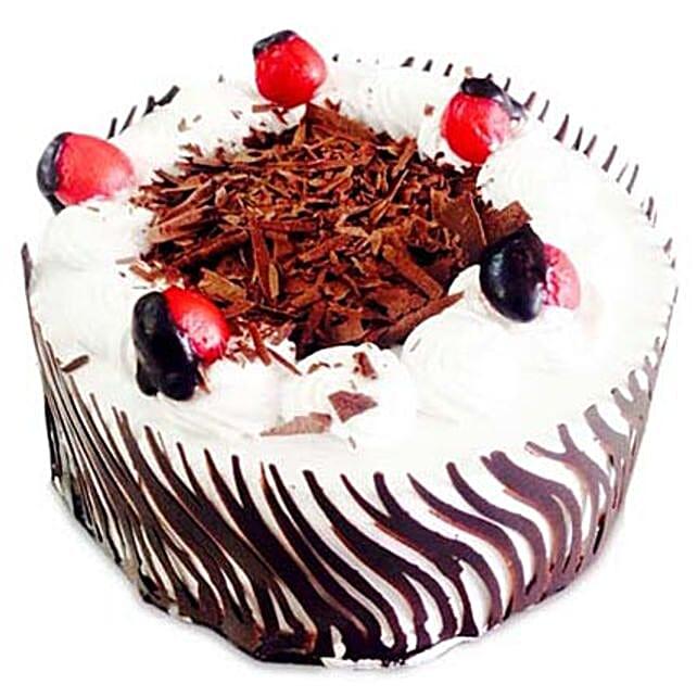 Exotic Blackforest Cake 1kg Eggless