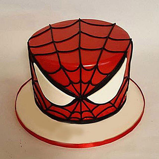 Glorious Spiderman Cake 2kg Eggless Chocolate