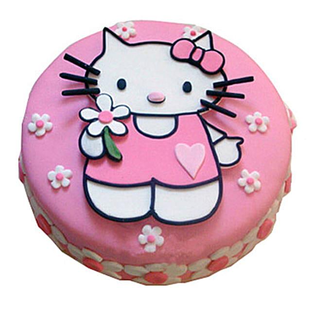 Hello Kitty Birthday Cake 2kg Pineapple