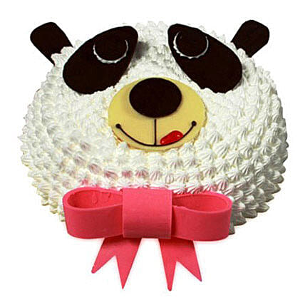 In Love With Panda Cake 2kg Eggless Butterscotch