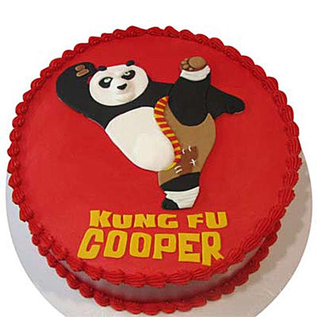 Kicking Po Cake 4Kg Butterscotch
