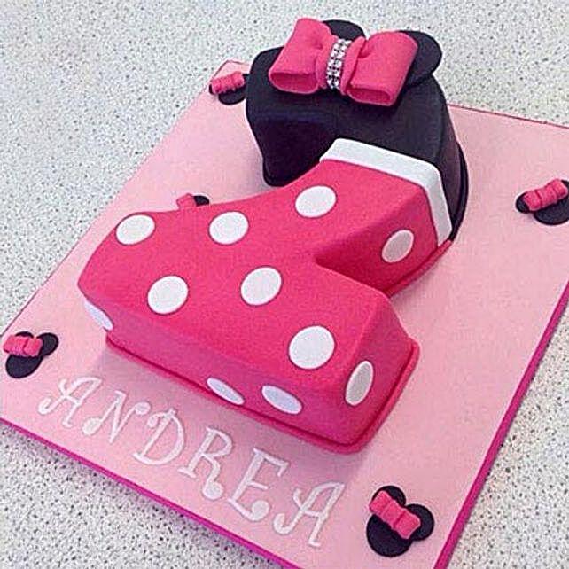 Minnie Love Cake 3Kg Truffle