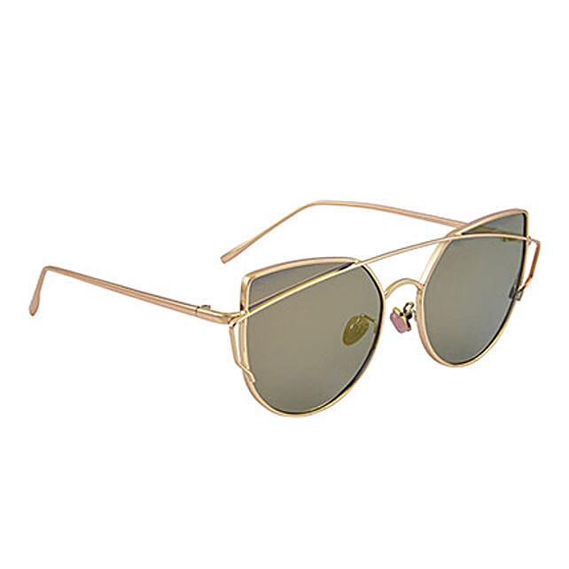 Mirrored Round Unisex Sunglasses