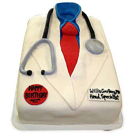 Mushy Doctor Cake 4kg Chocolate Eggless