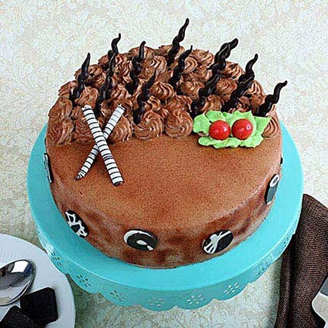 Musical Cake 2kg Eggless Chocolate