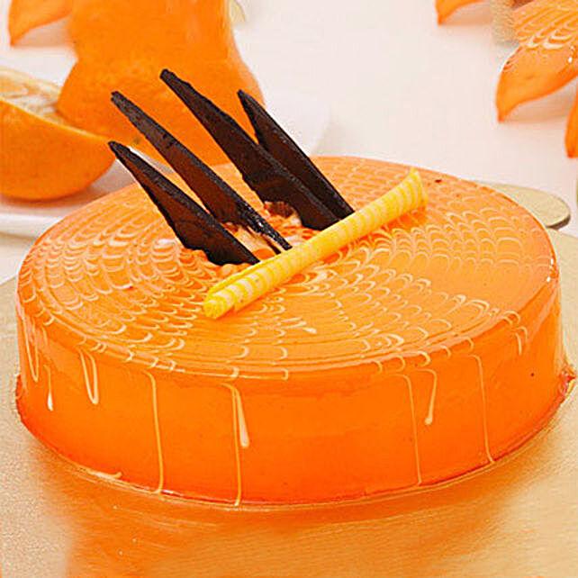 Orange Tangyliscious Cake 1KG Eggless