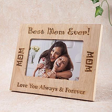 Personalized Best Mom Photo Frame
