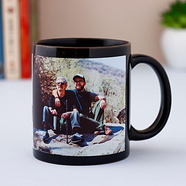 Personalized Black Mug
