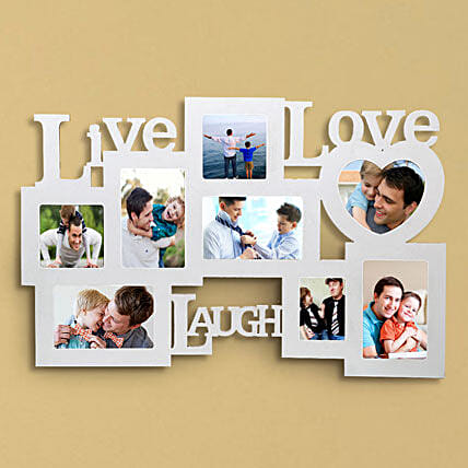 Personalized Live Love Laugh Frame