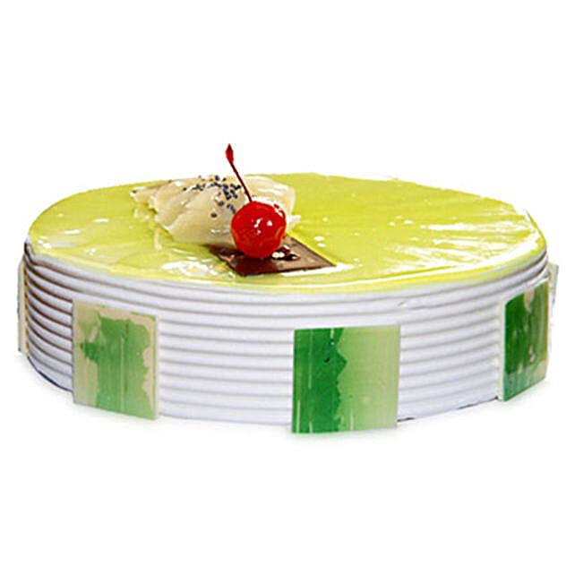 Pineapple Cake Five Star Bakery 1kg Eggless