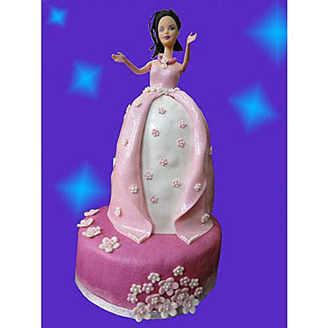 Princess Cake 3kg Pineapple Eggless