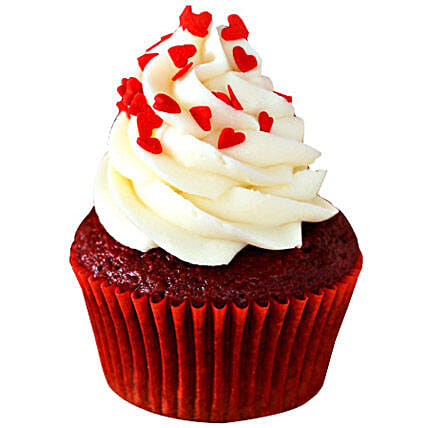 Red Velvet Cupcakes 24 Eggless