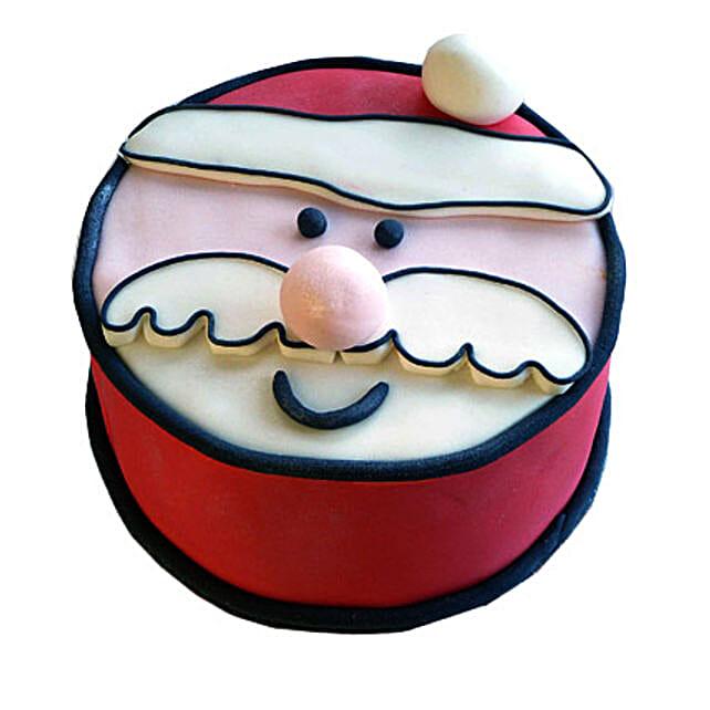 Santa Claus Xmas Cake 4kg Eggless