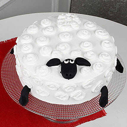 Shaun The Sheep Black Forest Cake 3kg