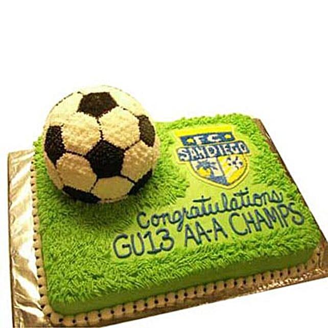 Soccer Cake 3Kg Truffle