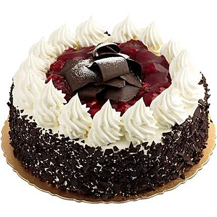 Blackforest Cake - Five Star Bakery 1kg:Holi Gifts to Pune