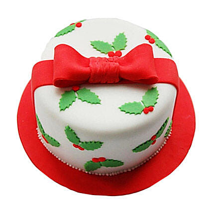 Special Christmas Gift Cake 2kg Eggless