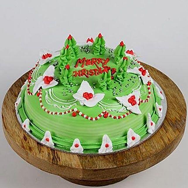 Special Christmas Vanilla Cake- Half Kg