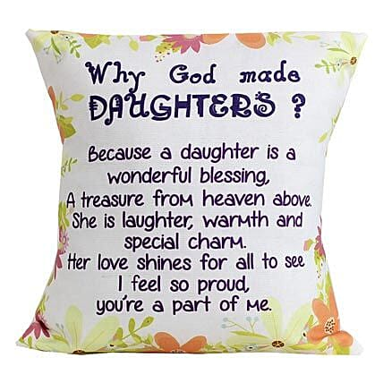Special Daughters Cushion