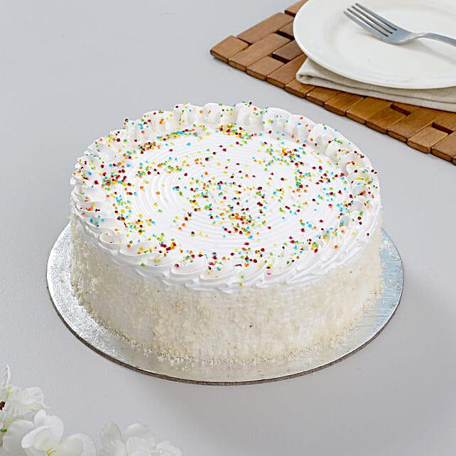 Vanilla Cake Half kg:Vanilla Cakes
