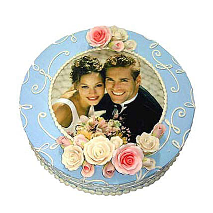 Special Photo Cake 1kg by FNP