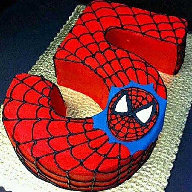 Spiderman Birthday Treat 2Kg Eggless Truffle