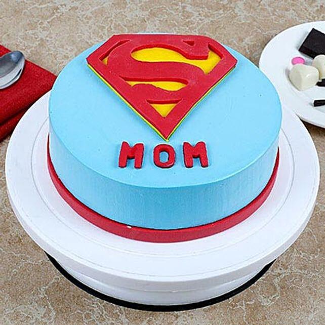 Supermom Vanilla Cake 1kg Eggless
