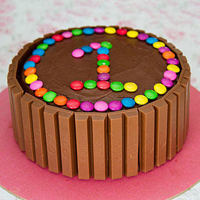 Admirable Supreme Kit Kat Cake 3Kg Eggless Gift Gems Decorated Kit Kat Funny Birthday Cards Online Inifodamsfinfo