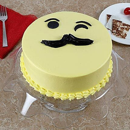 Tasty Cream Cake for Fathers Day Black Forest Cake 3kg