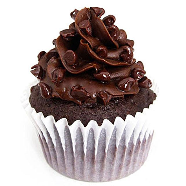 Tripple Chocolate Cupcakes 12 Eggless