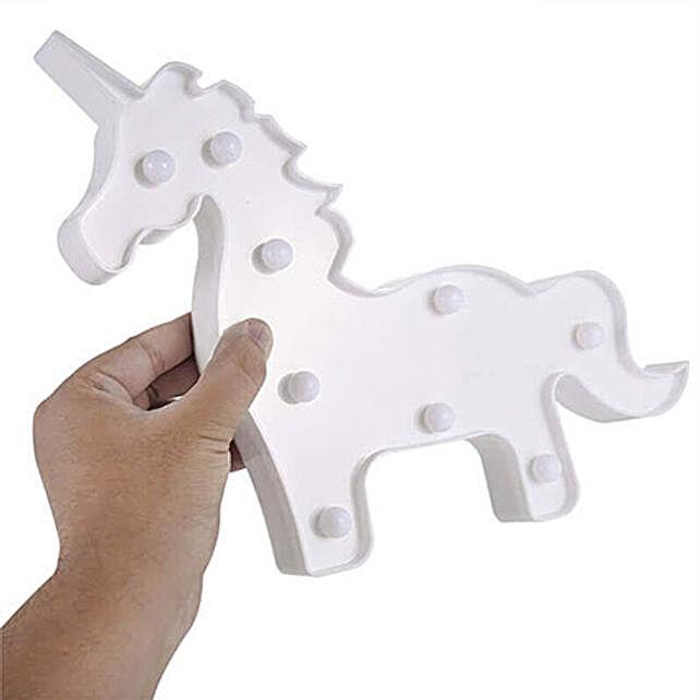 unicorn Lamp White