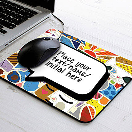 Vibrant Personalized Mouse Pad