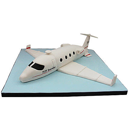 White Airplane Cake 2Kg Vanilla