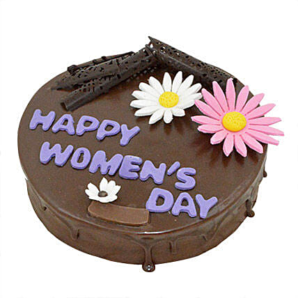 Womens Day Rich Chocolate Cake 2kg Eggless